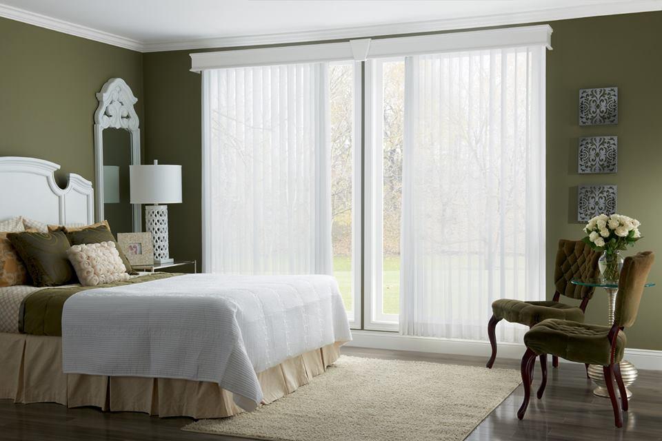 Sheer Fabric Verticals From Graber Designer S Touch